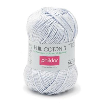 Phildar Phil coton 3 Ciel 1089 - 3 op=op uit collectie