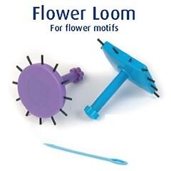 Flower loom knit wit