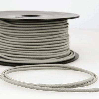 Elastiek koord 3 mm - grijs 4,95 meter