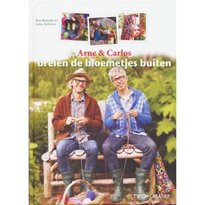 Arne & carlos breien de bloemetjes buiten p