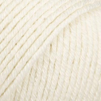 DROPS Cotton merino 01 Naturel
