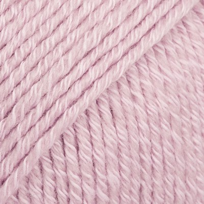 DROPS Cotton merino 05 poeder roze