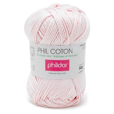 Phildar Phil Coton 4 Rosee 0001 - roze
