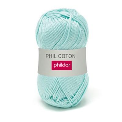 Phildar Phil Coton 4 Jade 0058 - groen mint