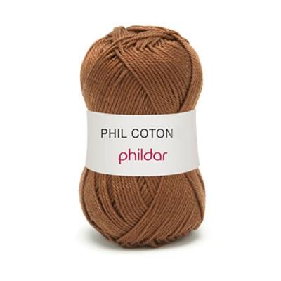 Phildar Phil Coton 4 Havane 0065 - bruin op=op uit collectie