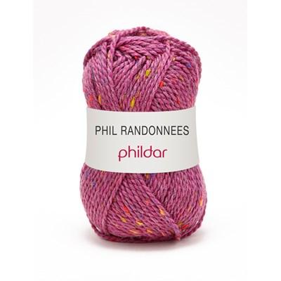 Phildar Phil Randonnees Fuchsia op=op uit collectie