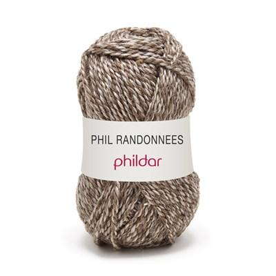 Phildar Phil Randonnees Taupe op=op uit collectie