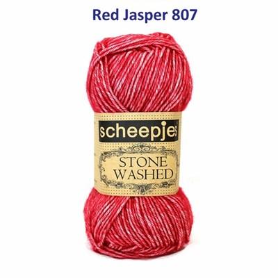 Scheepjes Stone Washed XL - 847 red jasper