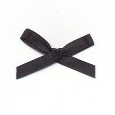 Strikje zwart 3 a 2 cm 10 stuks op=op