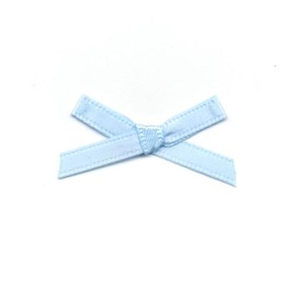 Strikje licht blauw 3 a 2 cm 100 stuks op=op