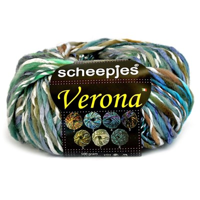 Scheepjes Verona 3 groen paars op=op