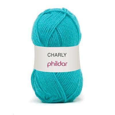 Phildar Charly Turquoise 0036 - 1015 - blauw turkoois