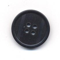 Knoop 23 mm zwart