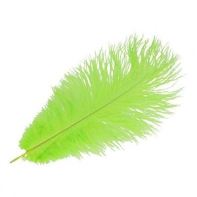 Veer 35 cm ca - groen lime