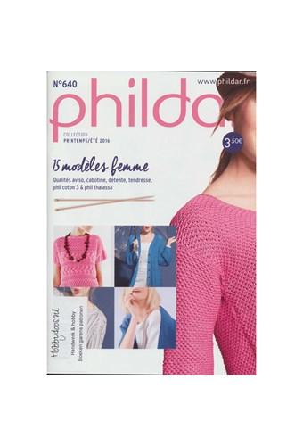 Phildar nr 640 15 damesmodellen (dwld)