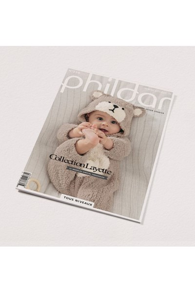 Phildar nr 158 - herfst winter 2018 51 modellen voor de babyuitzet