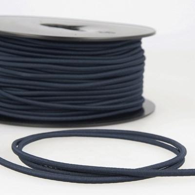 Elastiek koord 3 mm - blauw 4,95 meter
