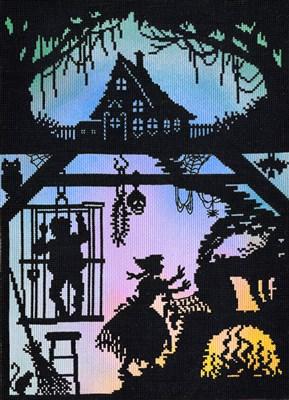 Borduurpakket sprookje - Hans en Grietje