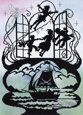 Borduurpakket sprookje - Peter Pan