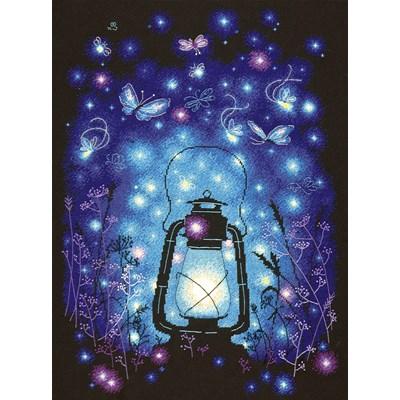Borduurpakket magic light