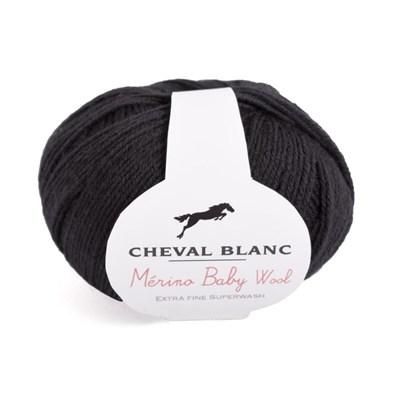 Cheval Blanc Merino Baby Wool 012 Noir op=op