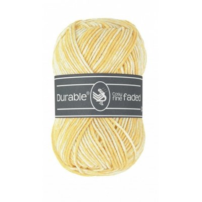 Durable Cosy fine Faded 0309 Light yellow