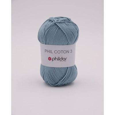 Phildar Phil coton 3 Jeans Bleached