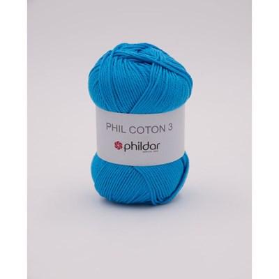 Phildar Phil coton 3 lagon
