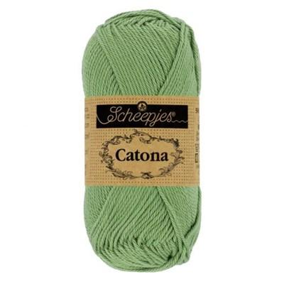 Scheepjes Catona 212 Sage Green 10 gram