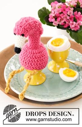 Haakpatroon eierwarmer in de vorm van ....