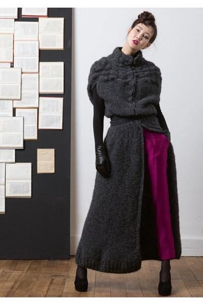 Breipatroon Lange mantel