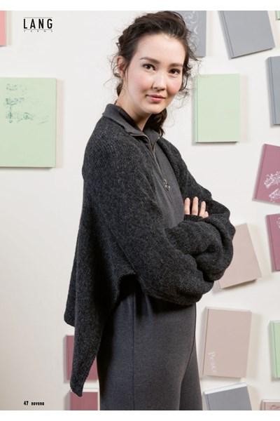 Breipatroon Sjaal met mouwen