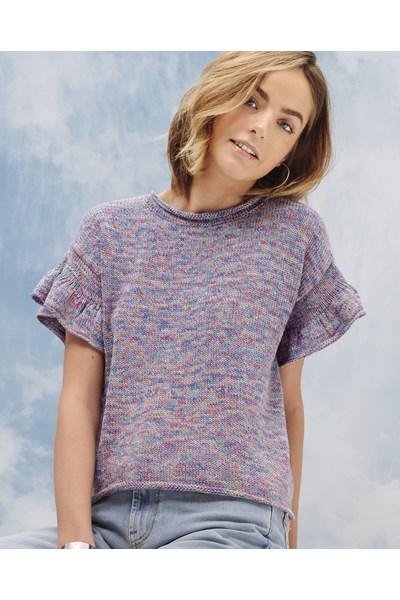 Breipatroon Dames t-shirt
