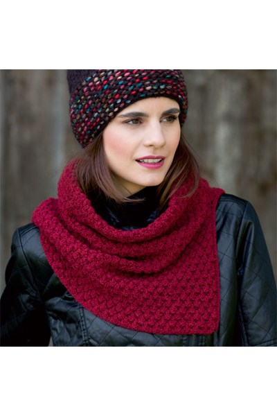 Breipatroon Ronde sjaal