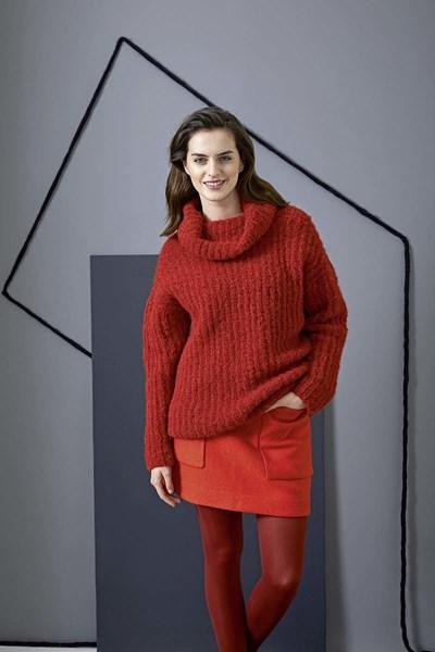Breipatroon Oversized trui