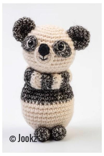 Haakpatroon Mini koukleum Panda