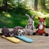 Klaparmband van bosdieren
