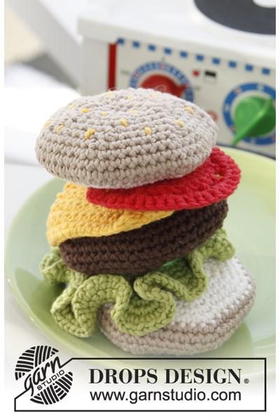 Haakpatroon Hamburger